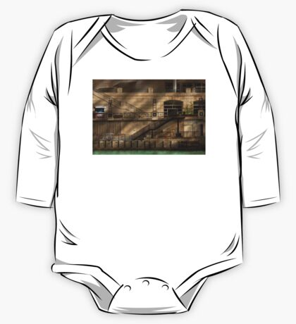 City - Chicago, IL - Ups and downs One Piece - Long Sleeve