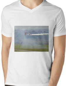 Through The Smoke - Wingwalkers - Shoreham 2014 Mens V-Neck T-Shirt