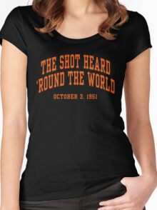 The Shot Heard 'Round The World Women's Fitted Scoop T-Shirt