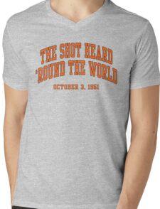 The Shot Heard 'Round The World Mens V-Neck T-Shirt