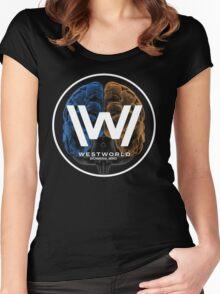 Westworld  Bicameral Mind  Women's Fitted Scoop T-Shirt