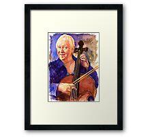 Cello Teacher Framed Print