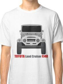 Toyota  Land Cruiser FJ40 - Front Classic T-Shirt