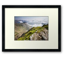 Wales - View from Snowdon Framed Print