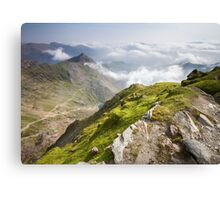 Wales - View from Snowdon Canvas Print