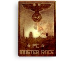 PC Master Race! Canvas Print