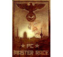PC Master Race! Photographic Print