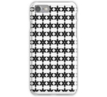 Snow Flake Black&White iPhone Case/Skin