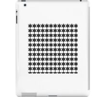 Snow Flake Black&White iPad Case/Skin