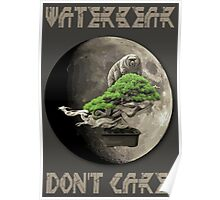 Water Bear - Don't Care! Poster