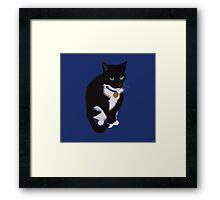 Chubby Munchkin Framed Print