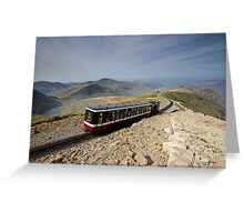 Snowdonia- Snowdon Mountain Railway Greeting Card