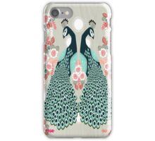 Peacocks by Andrea Lauren  iPhone Case/Skin
