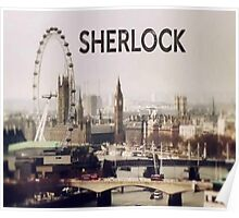 Sherlock & London Poster