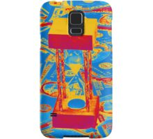 Pop Art Of Hour Glass On American Money Samsung Galaxy Case/Skin