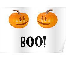 Pumpkins go Boo! Poster