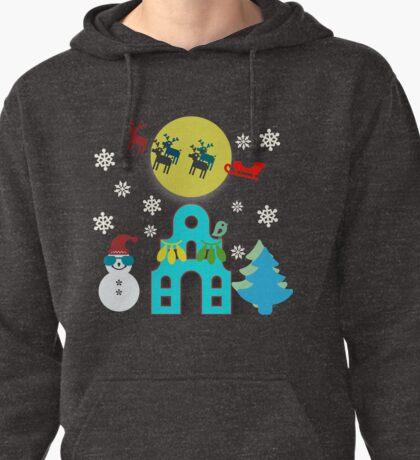 Christmas Eve Wonder Pullover Hoodie