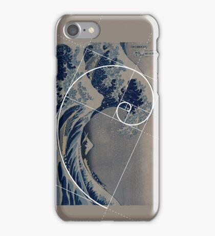 Hokusai Meets Fibonacci iPhone Case/Skin