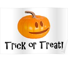 Pumpkin Trick or Treat Poster