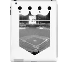 Kansas City Royals Stadium Black and White iPad Case/Skin