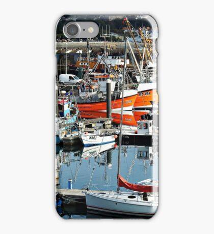 Newlyn Fish Market iPhone Case/Skin