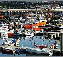 Newlyn Fish Market by Malcolm Chant