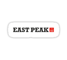 East peak Apparel - Text and Logo T-Shirt Sticker