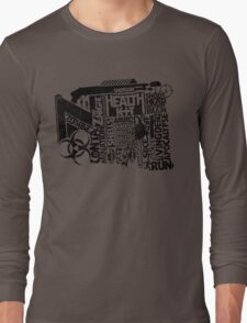 Survival Guide (black) Long Sleeve T-Shirt