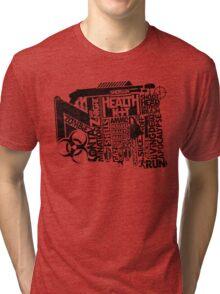Survival Guide (black) Tri-blend T-Shirt