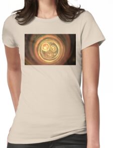 Peach Spheres Womens Fitted T-Shirt