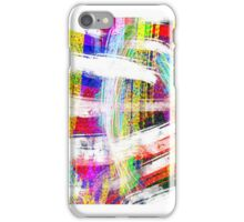 Multicolored Layers V iPhone Case/Skin