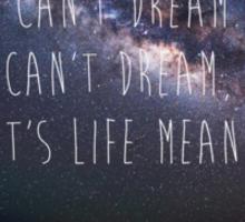 Dreaming Sticker