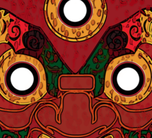 Red Demon for Shirt Sticker