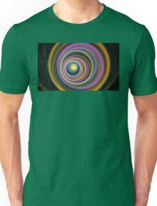 Sage Gold Circles Unisex T-Shirt