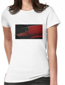 High Contrast Mustang Womens Fitted T-Shirt
