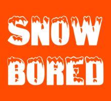 SNOW BORED Kids Tee
