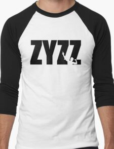 Zyzz Text Black Men's Baseball ¾ T-Shirt