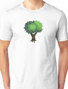 Pixel Art Tree Unisex T-Shirt