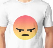 Angry reaction  Unisex T-Shirt