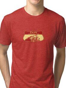 Zion National Park Tri-blend T-Shirt