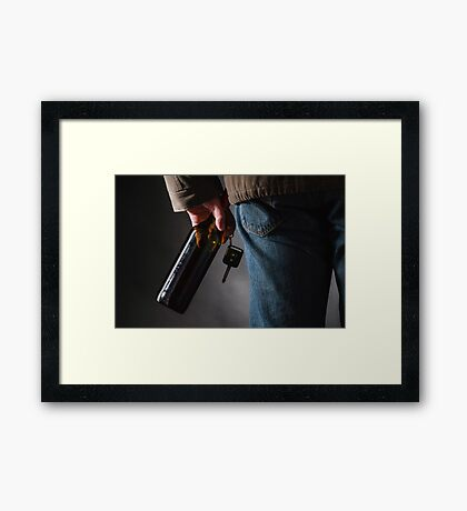 Drunk Driver Framed Print