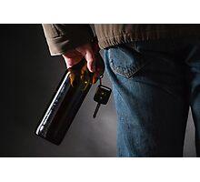 Drunk Driver Photographic Print