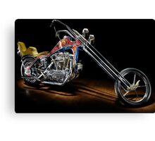 Evel Knievel Harley XLCH Chopper Canvas Print