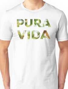 Pura Vida Costa Rica Palm Trees Unisex T-Shirt