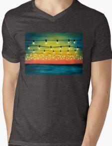Lights In The Sky Mens V-Neck T-Shirt