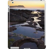 Merewether Rockpools with view to Bar Beach iPad Case/Skin