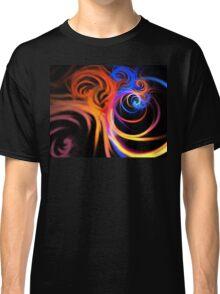 Ultraviolet Swirls Classic T-Shirt