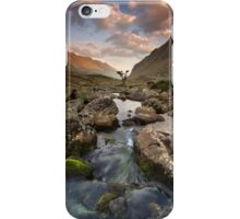 Snowdonia- Llanberis Pass Sunrise iPhone Case/Skin