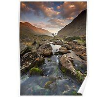 Snowdonia- Llanberis Pass Sunrise Poster