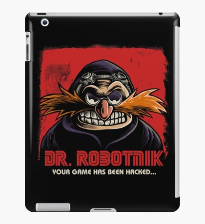 Mr Robotnik iPad Case/Skin